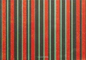 Kerstmis Grunge Stripes Achtergrond vector