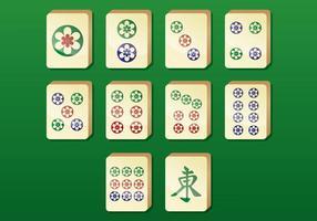 Mahjong Vector Pictogrammen