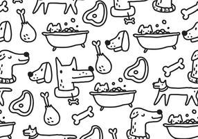 Hondenpatroon vector