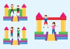 Funhouse Illustratie vector