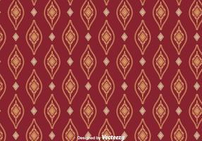 Songket Ornament Naadloze Patroon Vector