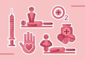 CPR Vector Pictogrammen