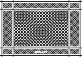 Keffiyeh Patroon Achtergrond vector