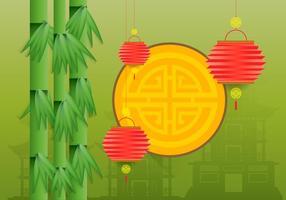 China Town Illustratie vector