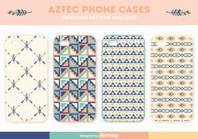 Gratis Aztec Telefoon Geval Vector Set