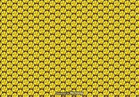 Gratis Gouden Sequin Vector Naadloos Patroon