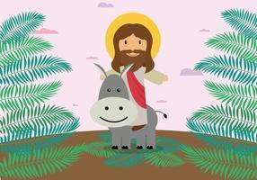 Gratis Palm Sunday Illustration vector