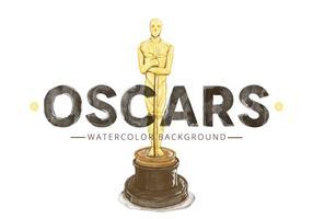 Gratis Oscar-standbeeld vector