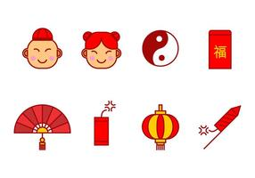 Rood pakket icoon