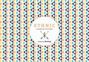 Gratis Geometrische Etnische Vector Patroon