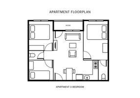 Appartement Vloerplan