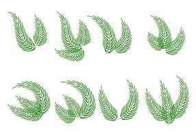Palmzondagvectoren