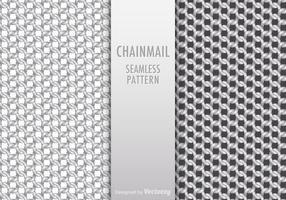 Gratis Chainmail Naadloze Patroon Vector