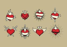Gratis Sacred Heart Vector