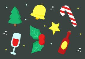 Gratis Vector Christmas Elements