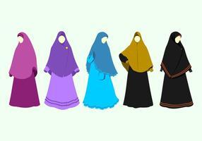 Abaya Gratis Vector