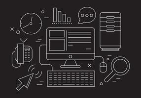 Gratis Office Elements vector