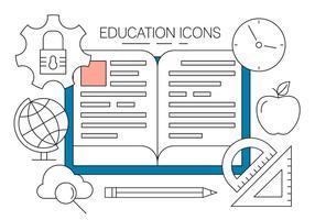 Gratis Educatie Pictogrammen vector