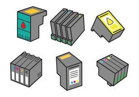 Inktcartridge Vector