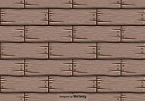 Vector Houten Achtergrond - Naadloos Patroon