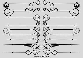 Vector Ornamentele Dividers