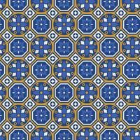 Gratis Talavera Vector Naadloos Patroon