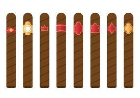 Gratis Sigarettenlabel Vector