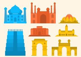 Gratis India Gate Vector