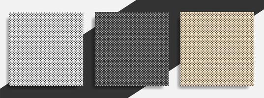 set van kleine driehoeken abstracte naadloze achtergronden