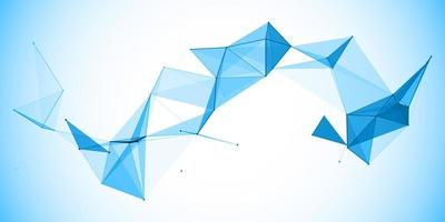 laag poly abstracte banner