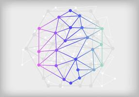 Nanotechnologie Virtuele Abstracte Achtergrond vector