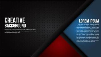 blackgrate textuur met rode en blauwe hoeken