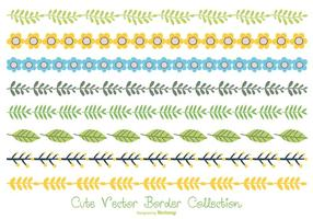 Leuke Pastelkleur Border Collection