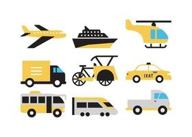 transport voertuig set