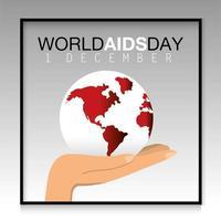 wereld aids dag preventie banner