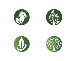 ecologie logo sjabloon