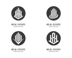 onroerend goed logo collectie