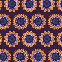 mandala bloemen en decoratieve decoratie achtergrond vector