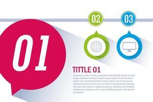 infographic met pictogrammen bedrijfs