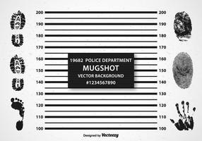 Gratis Mugshot Achtergrond Vector
