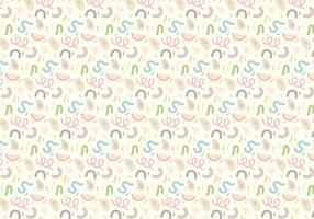 Pastel Geometrisch Patroon vector