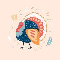thanksgiving day kalkoen