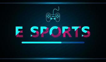 e-sports abstract technologie game-ontwerp vector