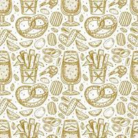 oktoberfest naadloze patroon, textuur