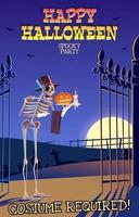 happy halloween party uitnodiging