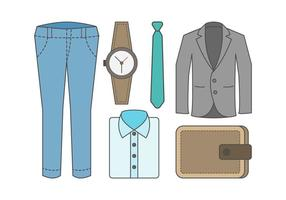 Gratis Outfit Vector