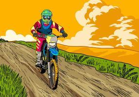 Laten we fietsen rijden vector