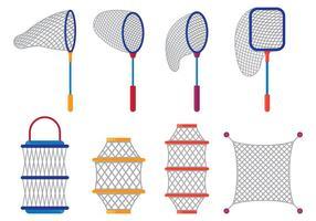 Vector Van Fishing Net
