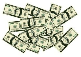 Een stapel geld vector