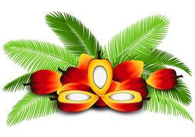 Illustratie van Palmolie vector
